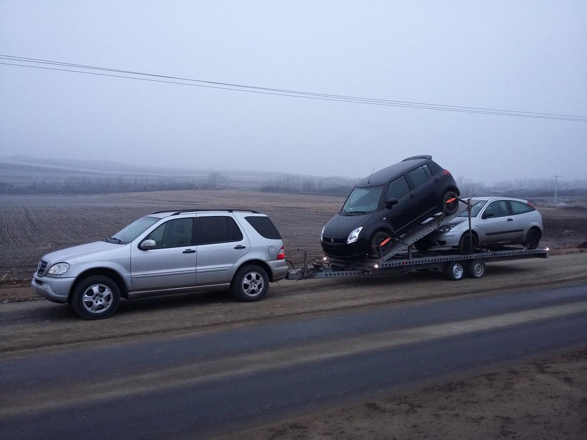 autómentő, autómentés 2 autó